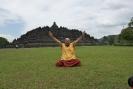 Lama Gangchen en Borobudur